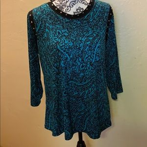 NWOT Susan Graver pullover tunic